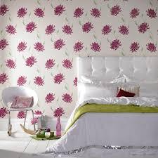 papier peint chambre fille ado chambre à coucher idée déco chambre fille ado literie motifs