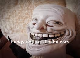 Troll Meme Mask - trollface party the cosplay carnival latex meme troll face mask