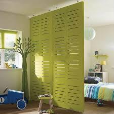 separateur de chambre design interieur cloison amovible ajourée chambre enfants cloison