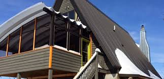 Awning Shed Award Winning Kentucky Artist Builds Steel Awning Shed And Carport