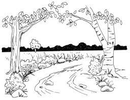 How To Draw Landscapes by How To Draw A Rural Lane How To Draw A Rural Lane Howstuffworks