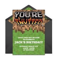 minecraft birthday party food labels free printable now with