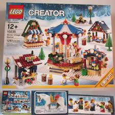 christmas sets new lego creator christmas winter market 1261 pcs set
