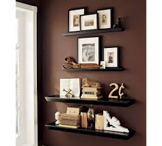Pottery Barn Ladder Shelf Wall Floating Shelves Decor Would Be Cute Between Windows In