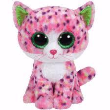ty beanie boos regular sophie pink cat 36189 ty beanie