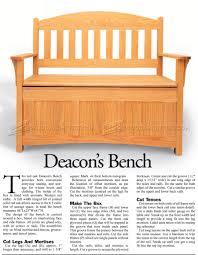 Outdoor Wood Sofa Plans Deacons Bench Plans U2022 Woodarchivist