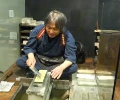 sharpening japanese kitchen knives japanese knife sharpening at korin in tribeca serious eats