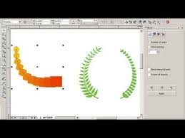 corel draw x4 blend tool how to learn interactive blend tool beginner coreldraw youtube