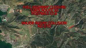 Caltrans Traffic Map Update 3 55 P M Hwy 20 Closed For Fatal Accident U2013 Redheaded