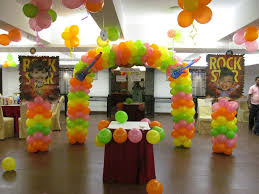 simple birthday party decorations at home supplies of decorations for rock star birthday party ideas ceg