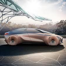 concept car of the bmw unveils shape shifting concept car next 100