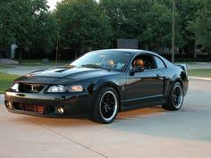 Black Mustang With Black Rims 2003 Ford Mustang Svt Cobra For Real Done Right With The Black