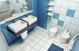 Cornflower Blue Bathroom by Bathroom Designs Blue And White Interior Design