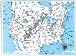 Weather Map New Orleans by Weatherwise Magazine July August 2012