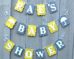Baby Shower Decorations Yellow Yellow And Gray Baby Shower Decorations Yellow And Gray