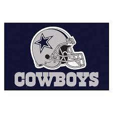 Dallas Cowboys Home Decor Amazon Com Fanmats Nfl Dallas Cowboys Nylon Face Starter Rug