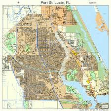 port st fl map port st florida map 1258715
