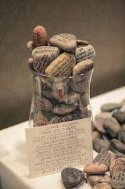 Wishing Rocks For Wedding Wishing Stones Unique Special Occasion Or Wedding Guest Book