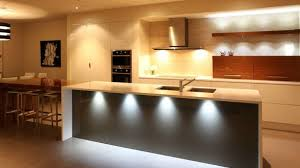 Kitchen Led Lighting Ideas Modern Kitchen Lights This Island Is Lighted With Low Hanging For
