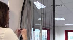 Tende Nere Ikea by Zanzariera Magnetica A Strisce Per Porta Ecco Strip Magnetica