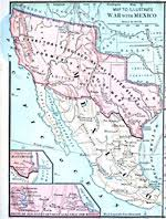 map of mexico and america maps of america regional maps