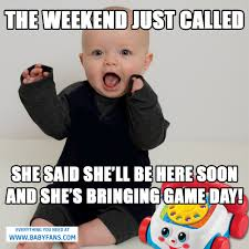 Meme Baby Products - game day meme baby fans memes pinterest baby fan