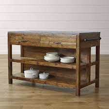 shop bluestone reclaimed wood large kitchen island hand assembled