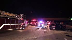 woman dies after crash while driving the wrong way on i 405