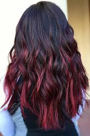 shades of high lights and low lights on layered shaggy medium length hair color 2017 2018 check out these gorgeous burgundy hair colors