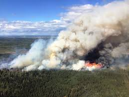 Bc Active Wildfires by B C Oil And Gas Report