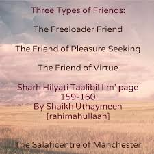 Seeking For Friendship Three Types Of Friends The Freeloader Friend The Friend Of