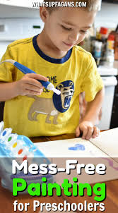 how to do preschool painting time without the mess giveaway