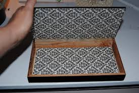 Decoupage Box Ideas - epic fail or tiny triumph upcycled decoupage cigar box on the