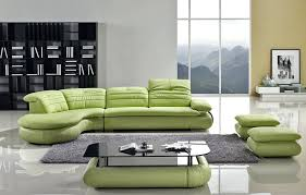 sectional light green leather sectional sofa hunter green