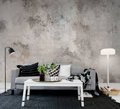 Wallpaper For Bedroom Walls Patina Painted Wallpaper Wallpaper And Walls
