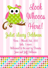 baby girl shower ideas owl baby girl shower invitations owl baby girl shower invitations