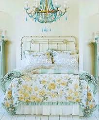 full queen rachel ashwell shabby chic ruffles roses cabana stripe