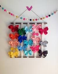 hair bow holders hair bow hanger