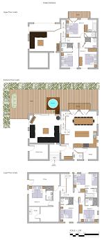 mountain chalet house plans floor plans chalet jirishanca more mountain morzine