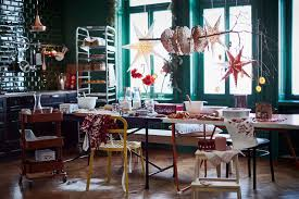 we are swooning over the new ikea christmas catalogue