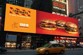 billboard 3 design tgi fridays restaurants on student show