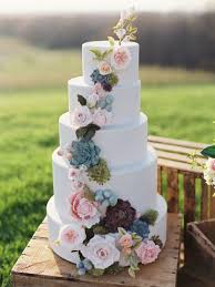 new wedding trend pantone colours 2016 floral wedding cakes
