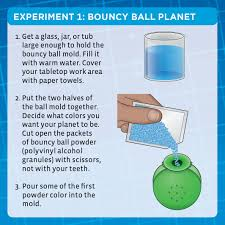 amazon com spark science in a flash bouncy ball planets kit