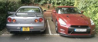 r34 choosing between a nissan skyline r34 gt r and a nissan gt r might