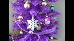 purple christmas tree youtube