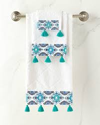 Aqua Towels Bathroom Best 25 Blue Hand Towels Ideas On Pinterest Embroidery Leaf
