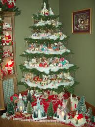 putz tree 2011 house christmas villages and vintage christmas