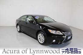 2014 lexus hybrid pre owned 2014 lexus es 300h hybrid 4dr car in lynnwood 698700