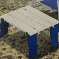compact folding beach table trademark innovations 15 7 compact folding beach and cing