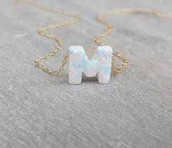 Mothers Necklace With Initials Best 25 Letter Necklace Ideas On Pinterest Initial Necklace